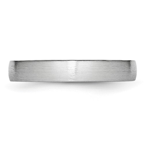 Chisel Cobalt Chromium Satin 4mm Band