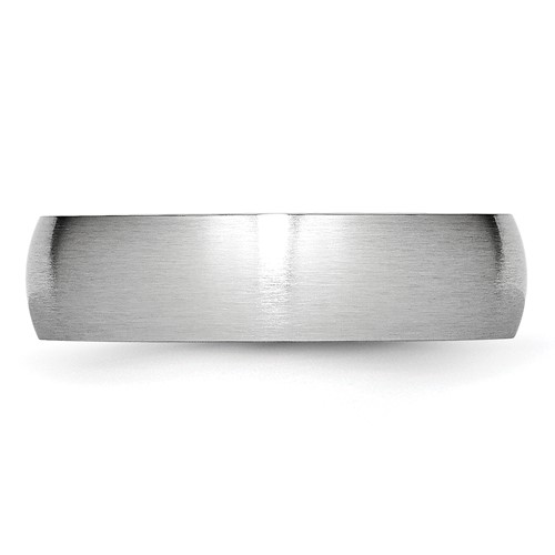 Chisel Cobalt Chromium Satin 6mm Band