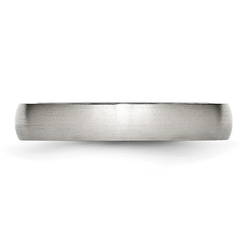 Chisel Stainless Steel 4mm Brushed Band