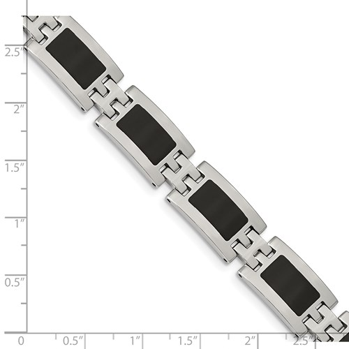 Chisel Stainless Steel Enameled Bracelet