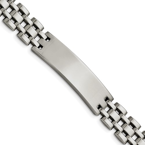 Stainless Steel Polished ID Bracelet