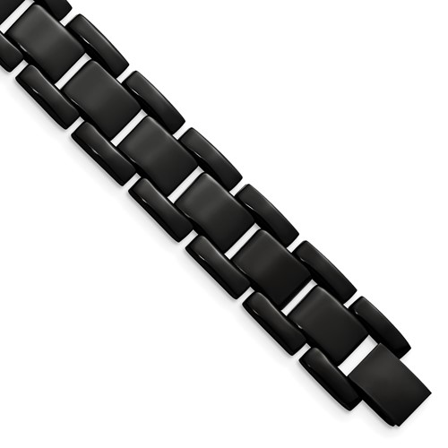 Chisel Stainless Steel Black Plating Bracelet