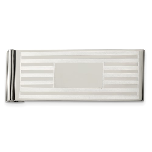 Chisel Stainless Steel Money Clip