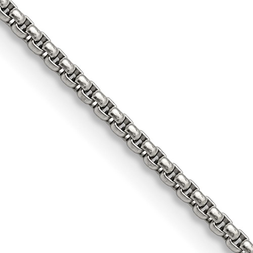 Chisel Stainless Steel 2.20mm 24 inch Pendant Chain