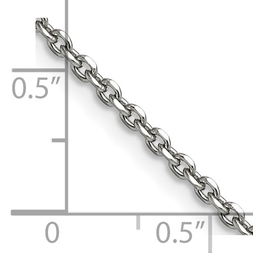 Chisel Stainless Steel 2.7mm 18 inch Cable Chain