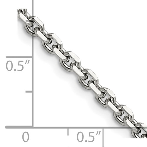 Chisel Stainless Steel 4.30mm 20 inch Cable Chain