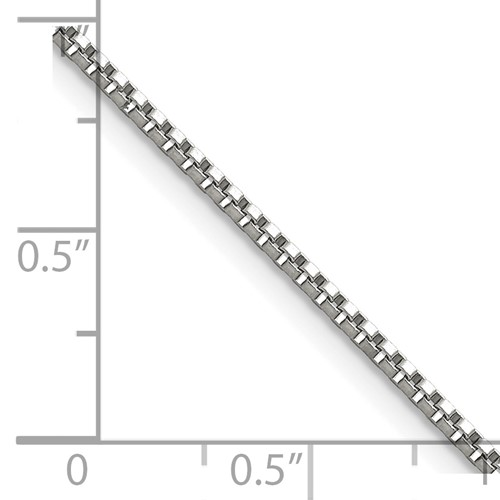 Chisel Stainless Steel 1.5mm 18 inch Box Chain