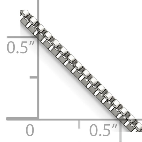 Chisel Stainless Steel 2.0mm 24 inch Box Chain