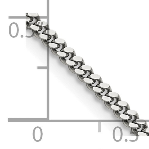 Chisel Stainless Steel 3.0mm 24 inch Curb Chain