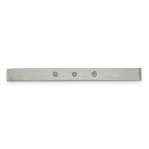 Chisel Stainless Steel Enameled Tie Bar
