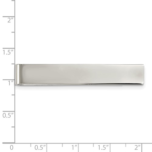 Stainless Steel Polished Tie Bar