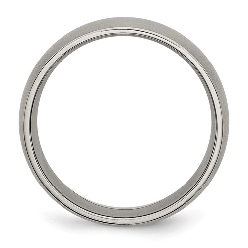 Chisel Titanium 7mm Brushed Band