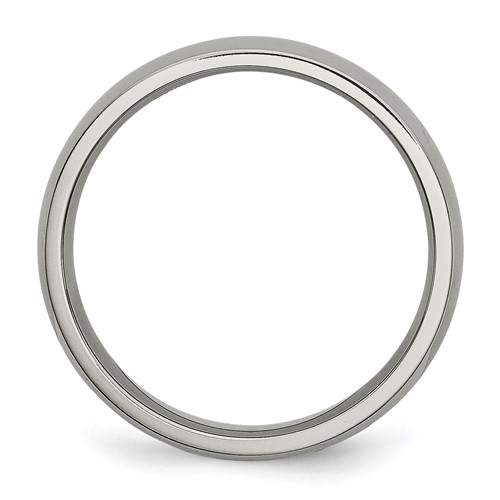 Chisel Titanium 5mm Polished Band