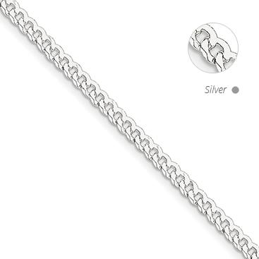 Beveled Curb Chain
