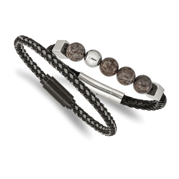 Cord, Leather & Rubber Bracelets