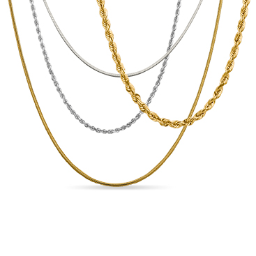 """14k Rose Gold 0.70mm Diamond-Cut Ropa Chain Necklace 16/"""" 24/"""""""