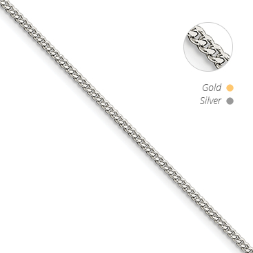 Flat Beveled Curb Chain