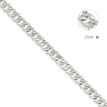 Flat Link Curb Chain