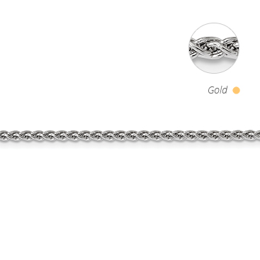 Semi Solid Spiga Chain