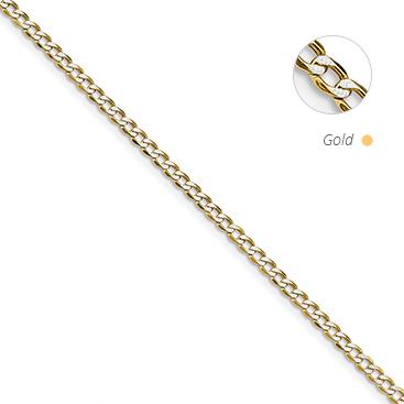 Semi Solid Pavé Curb Chain