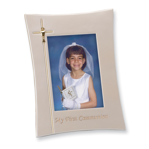 Roy Rose Jewelry First Communion 4x6 Photo Frame