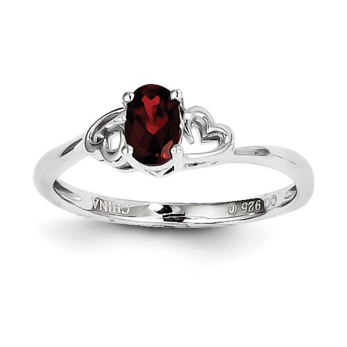 Jan 8 birthstone ring