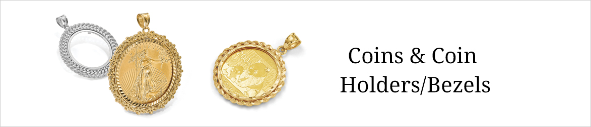 Shop coins coin holdersbezels quality gold aloadofball Images