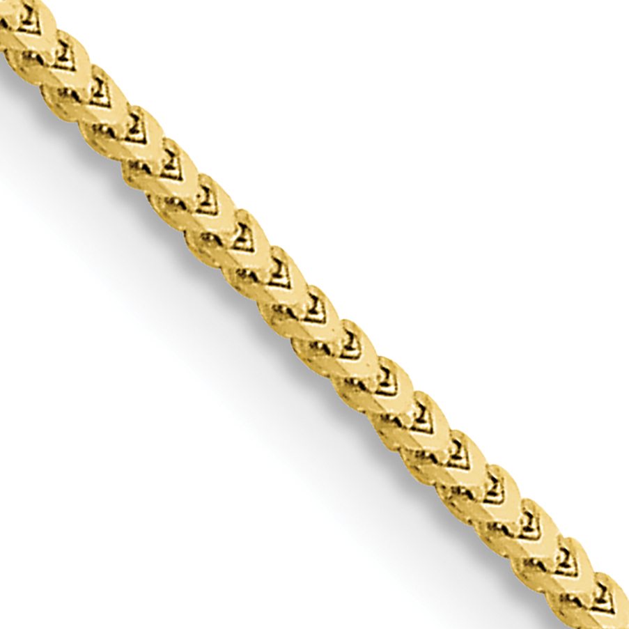 10k 1.5mm Franco Chain. Weight: 6.2,  Length: 16