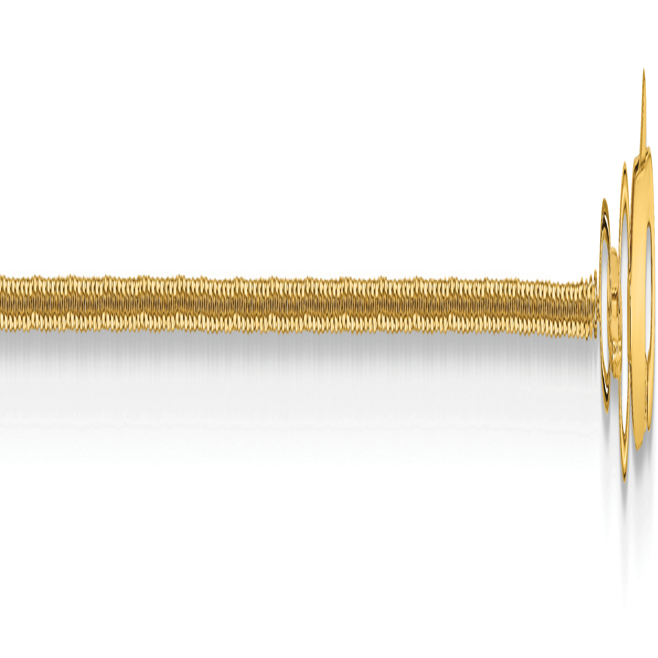 10k .80mm D/C Cable Chain. Weight: 1.03,  Length: 16