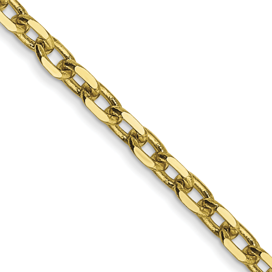 10k 2.2mm D/C Cable Chain. Weight: 4.45,  Length: 16