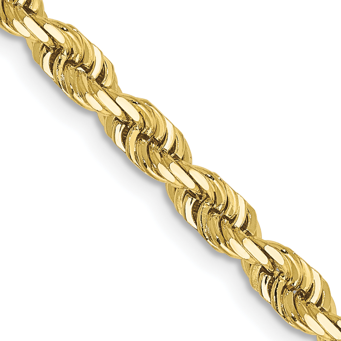 10k 4mm D/C Quadruple Rope Chain. Weight: 18.1,  Length: 20