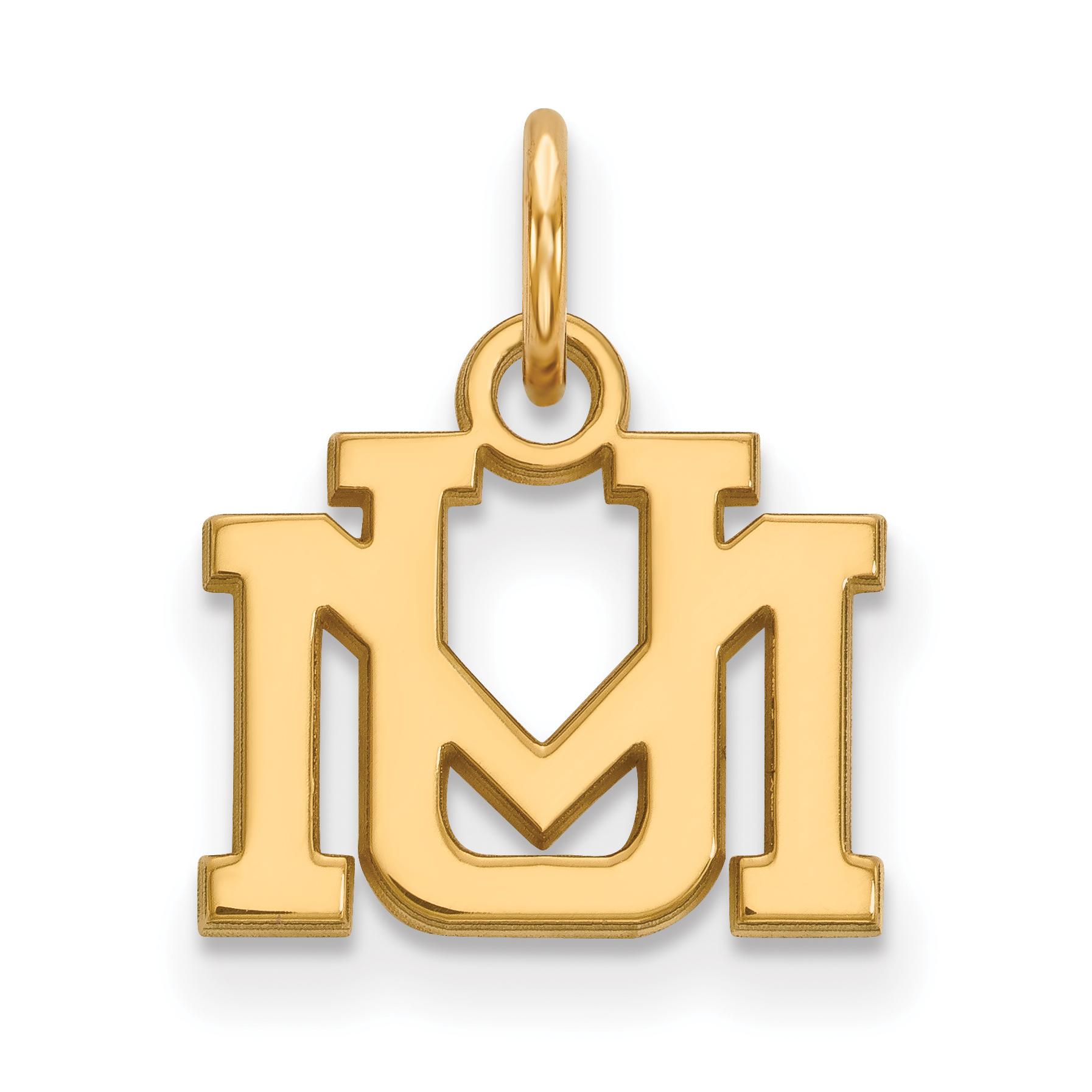 10ky LogoArt University of Montana XS Pendant