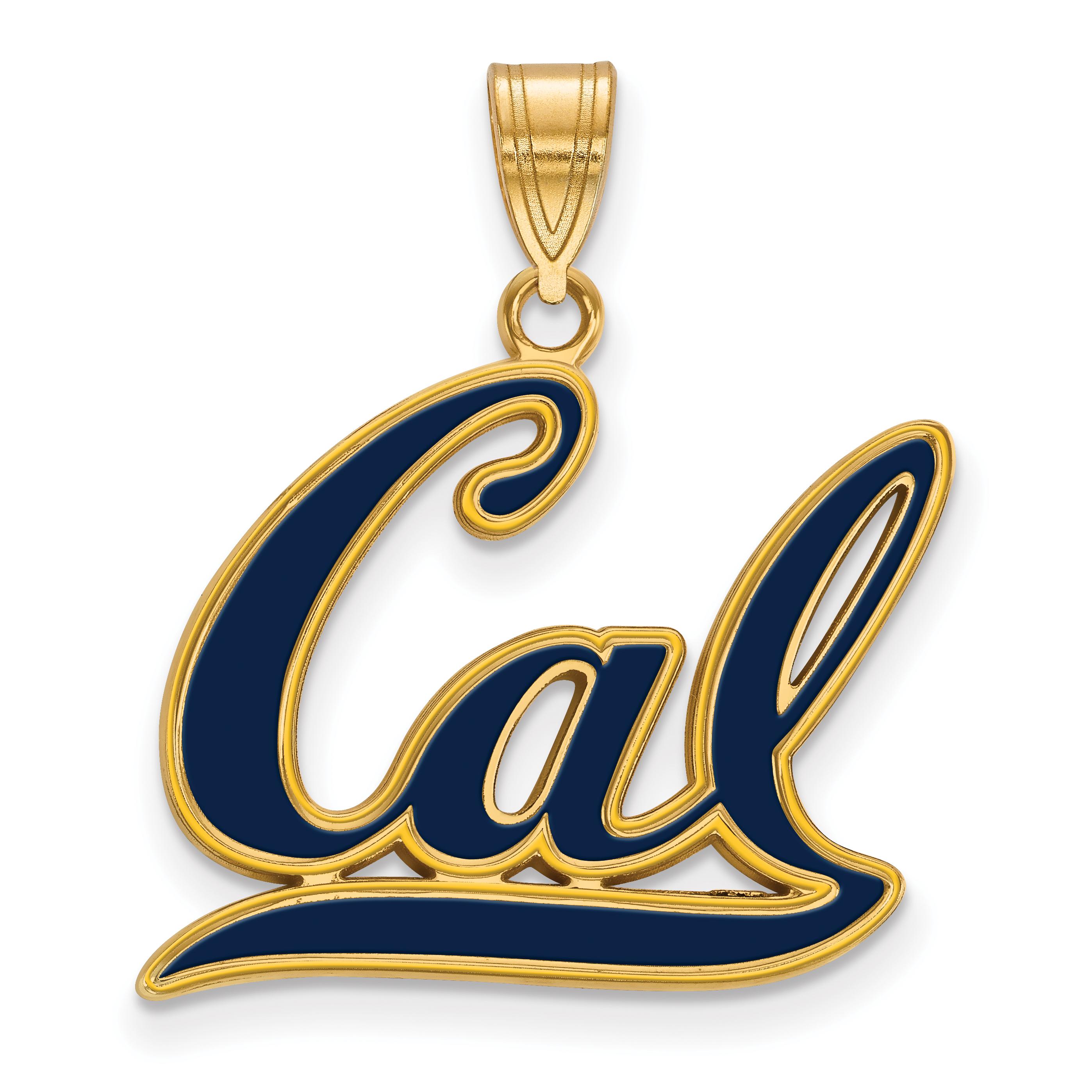 Sterling Silver LogoArt University of California Berkeley XS Post Earrings