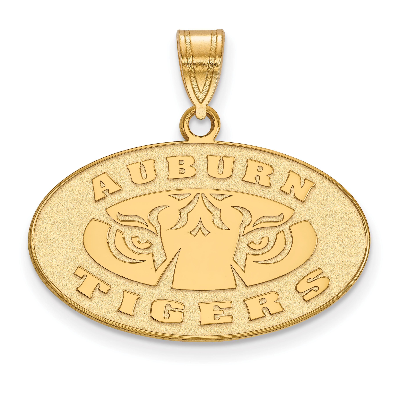 10ky LogoArt Auburn University Medium Pendant