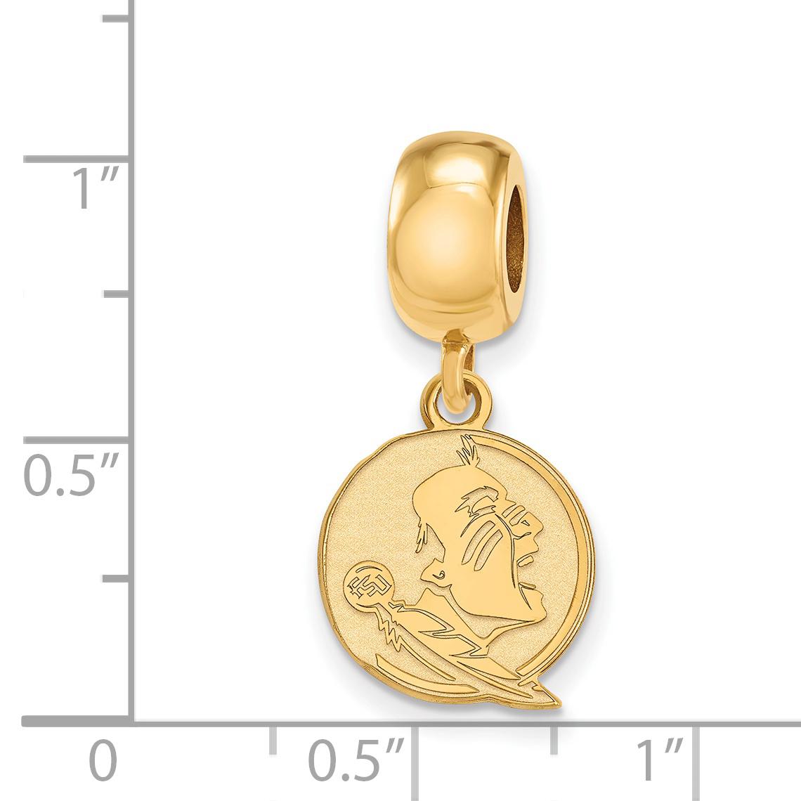 Sterling Silver Logoart Florida State University Small Dangle Bead Large Assortment Fine Jewelry