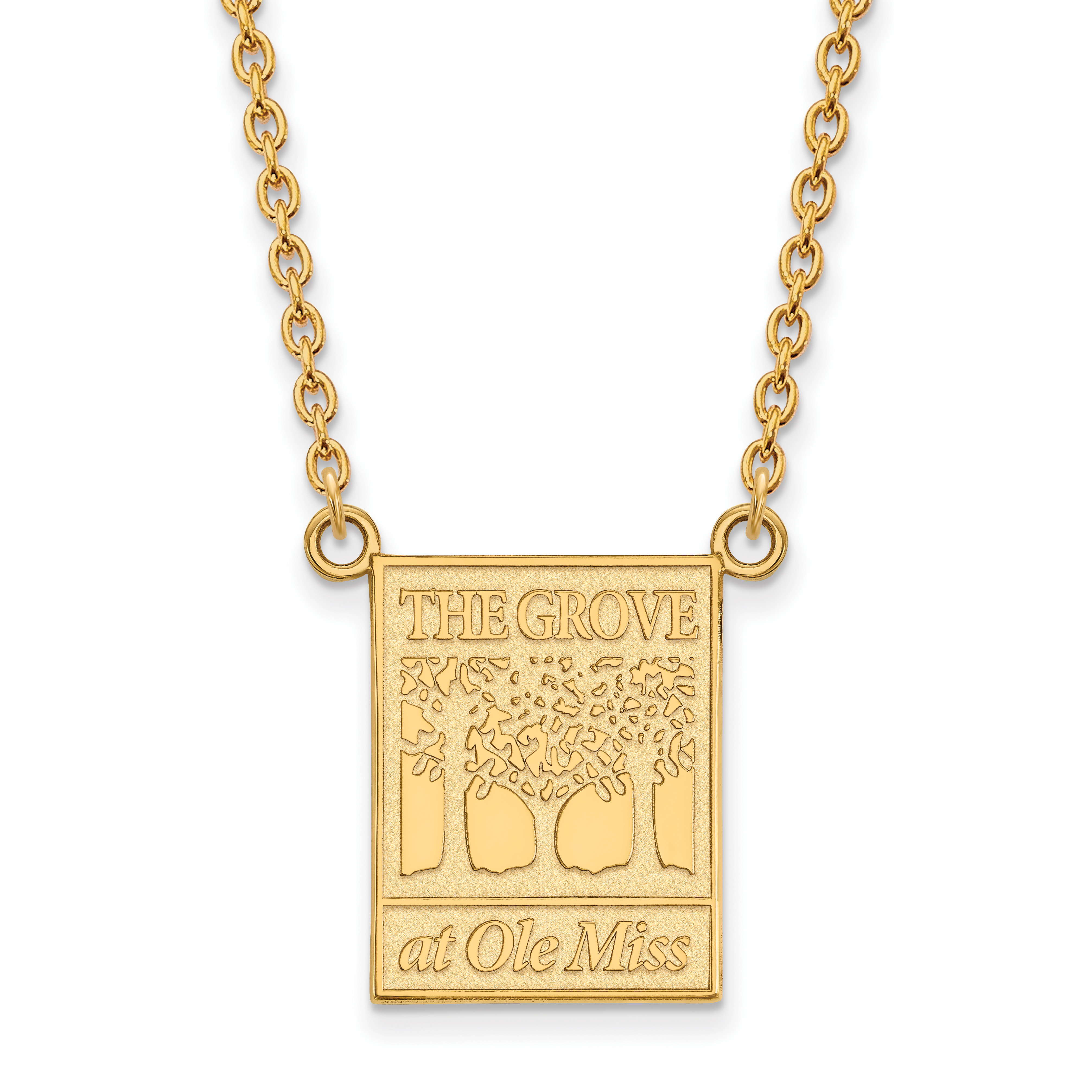 14ky logoart university of mississippi large pendant wnecklace quick view mozeypictures Image collections