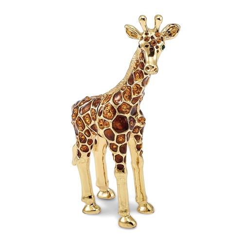 Bejeweled GRACIE Gentle Giraffe Trinket Box