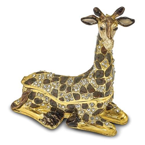 Bejeweled LANY Lazy Giraffe Trinket Box