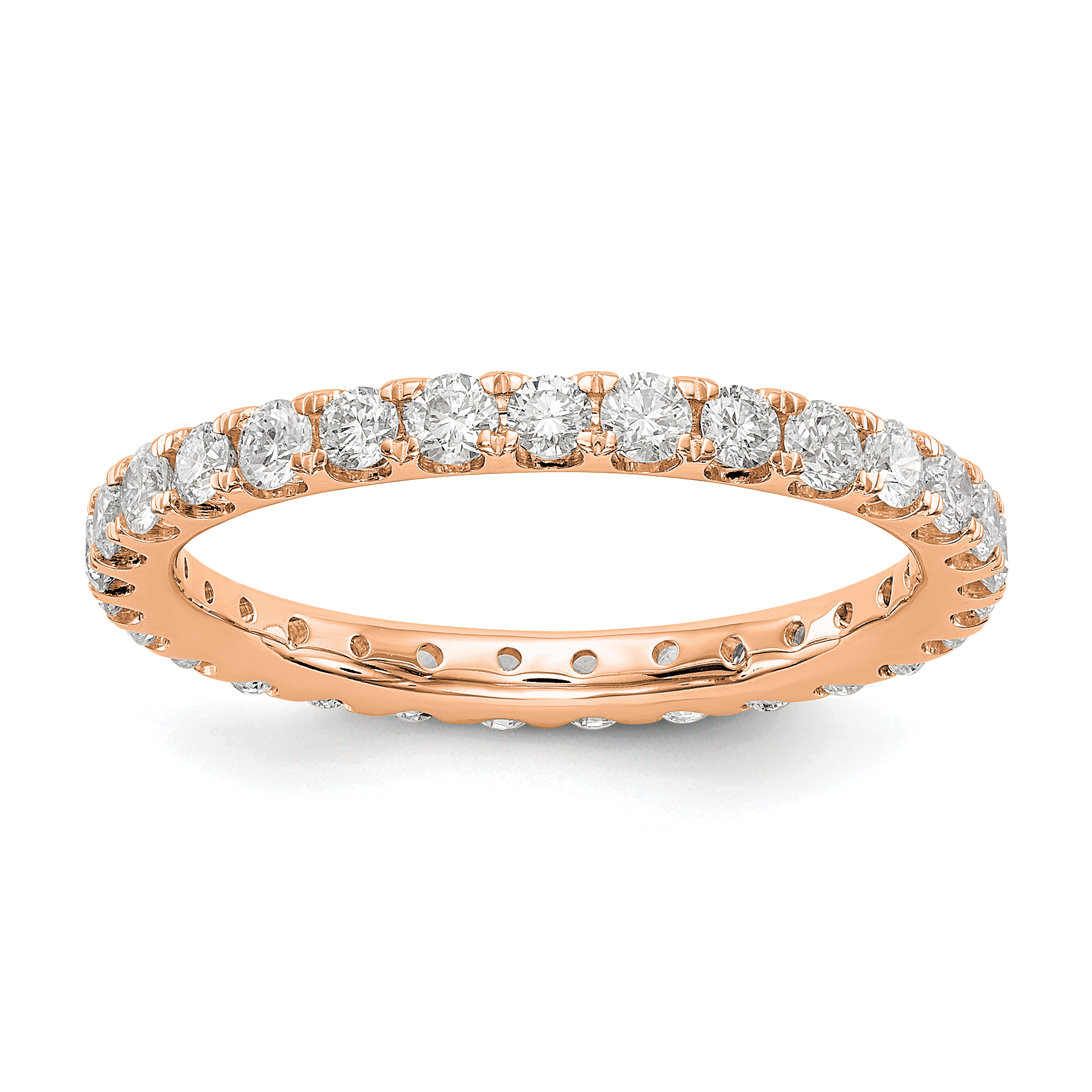 band tw eternity bands in gold diamond ct estate white