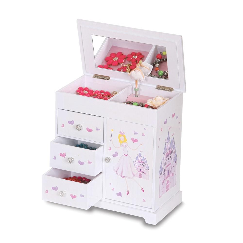Girls Musical Ballerina Jewelry Box