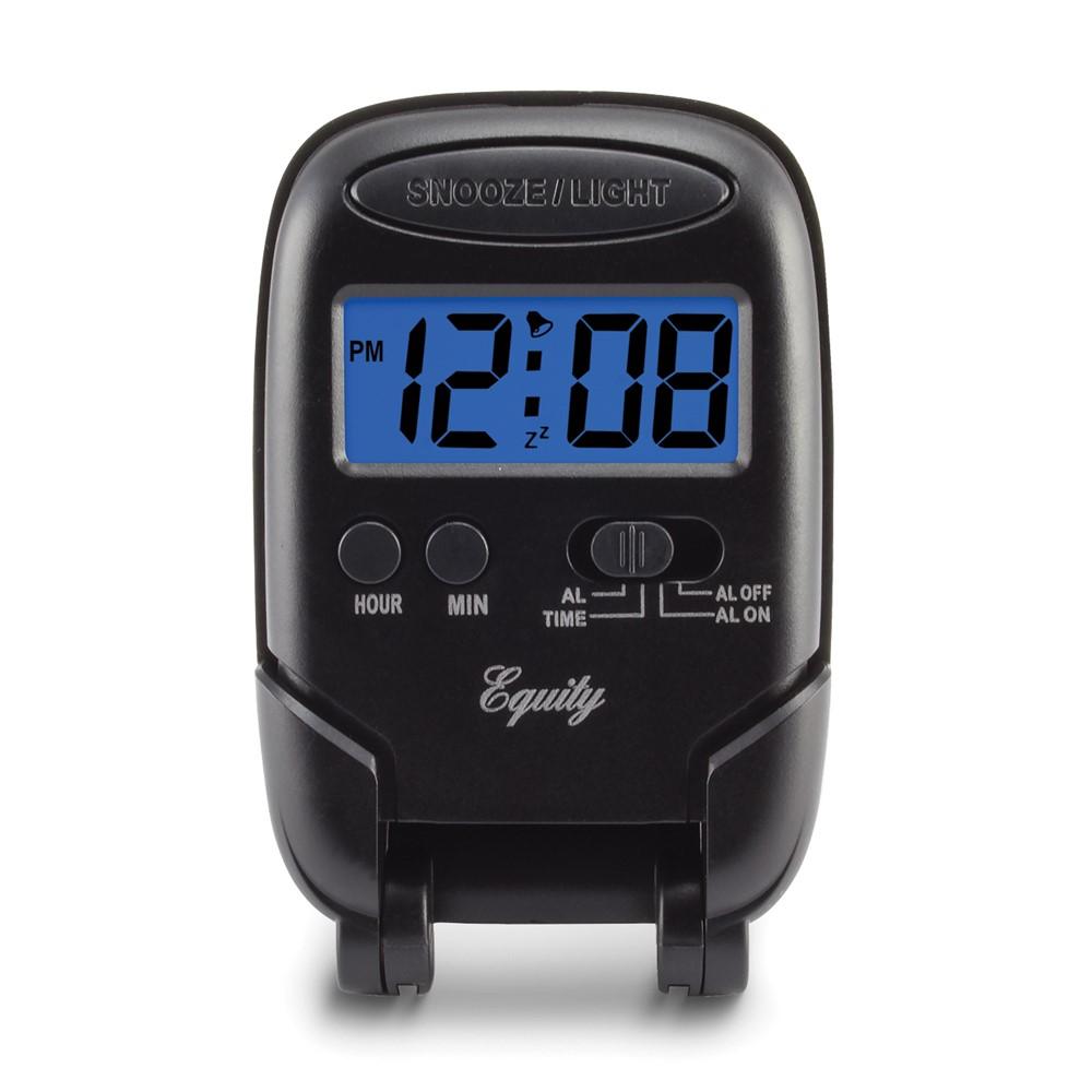 LCD Digital Fold-up Travel Alarm Clock