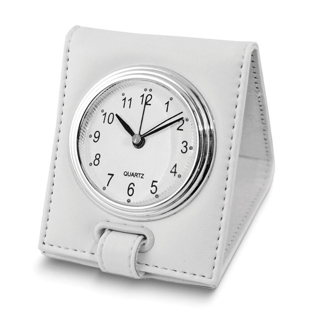 White Folding Alarm Clock