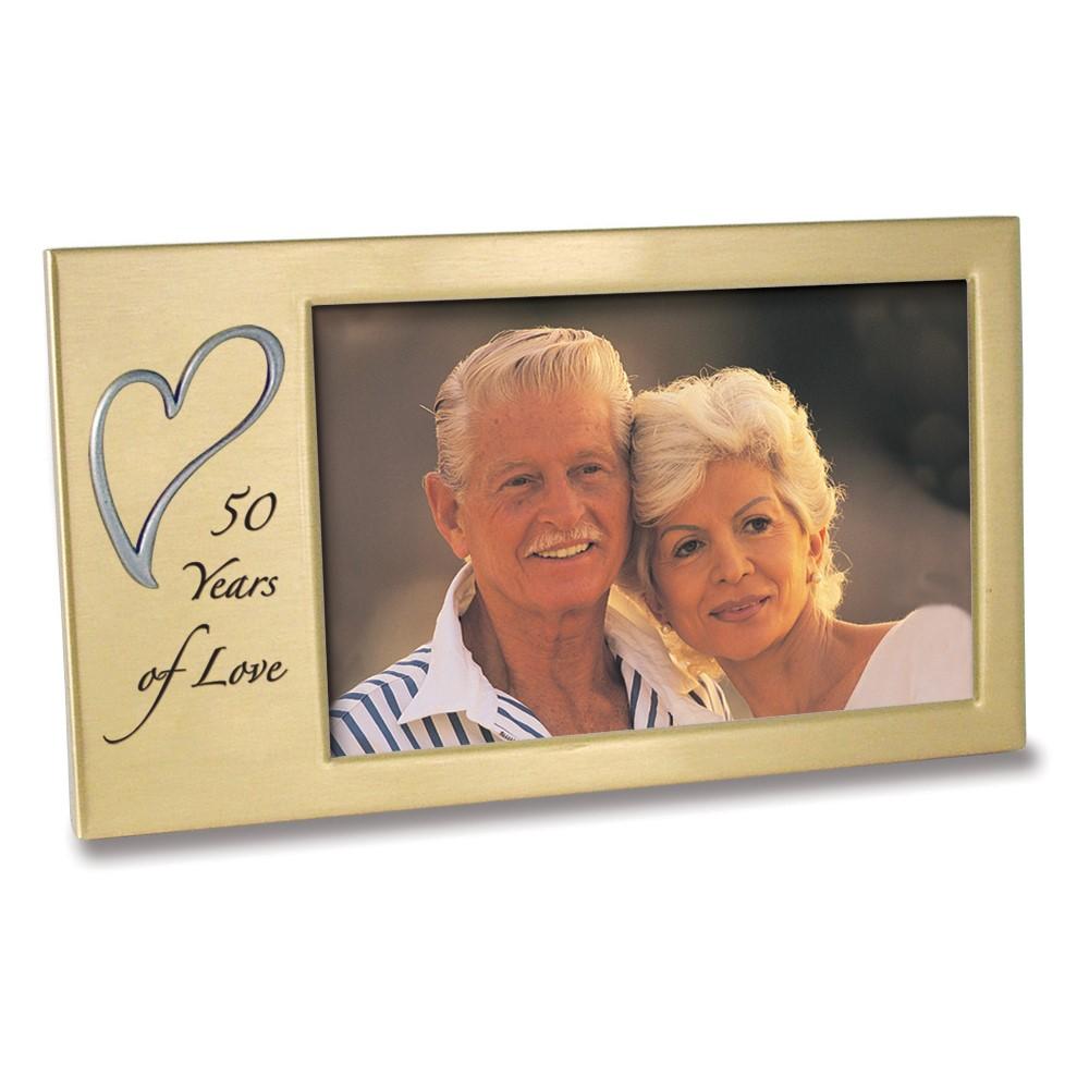 50 Years Of Love Anniversary Photo Frame