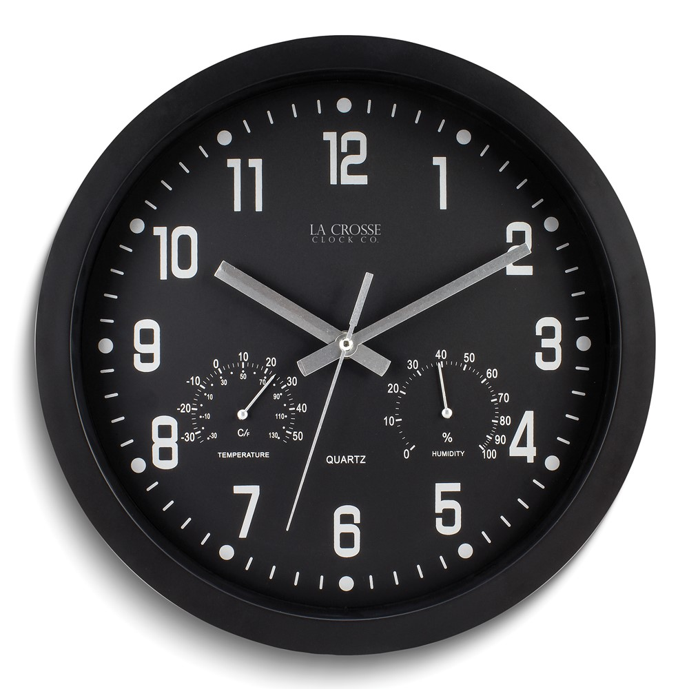 12in Inkwell Wall Clock