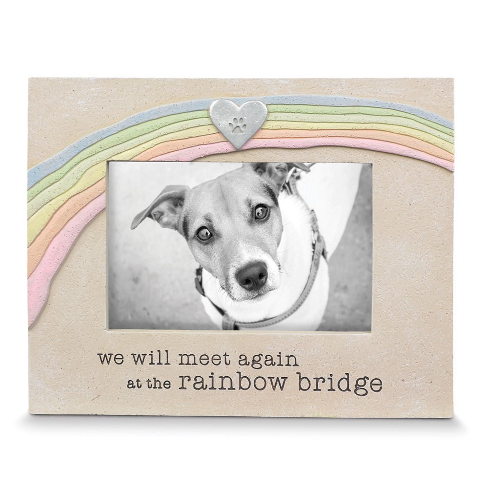 Pet Rainbow Bridge Photo Frame