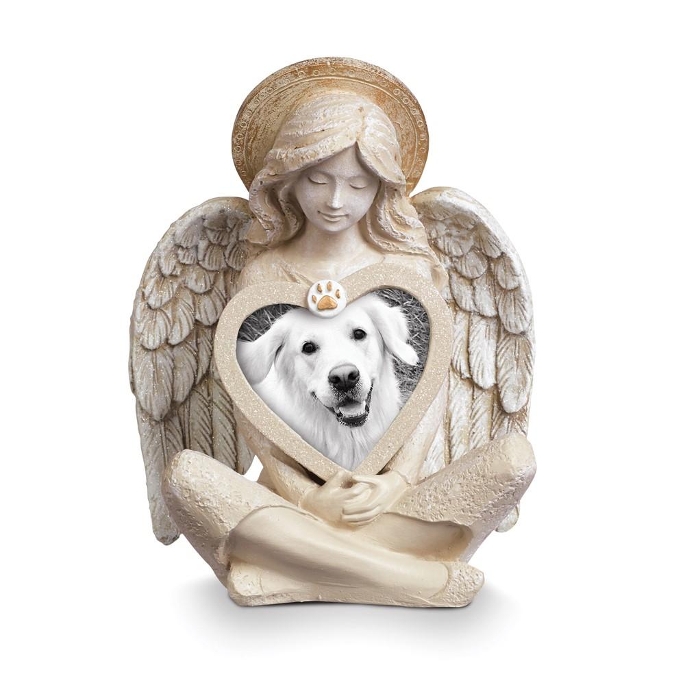 3-D Angel Pet Bereavement Photo Frame