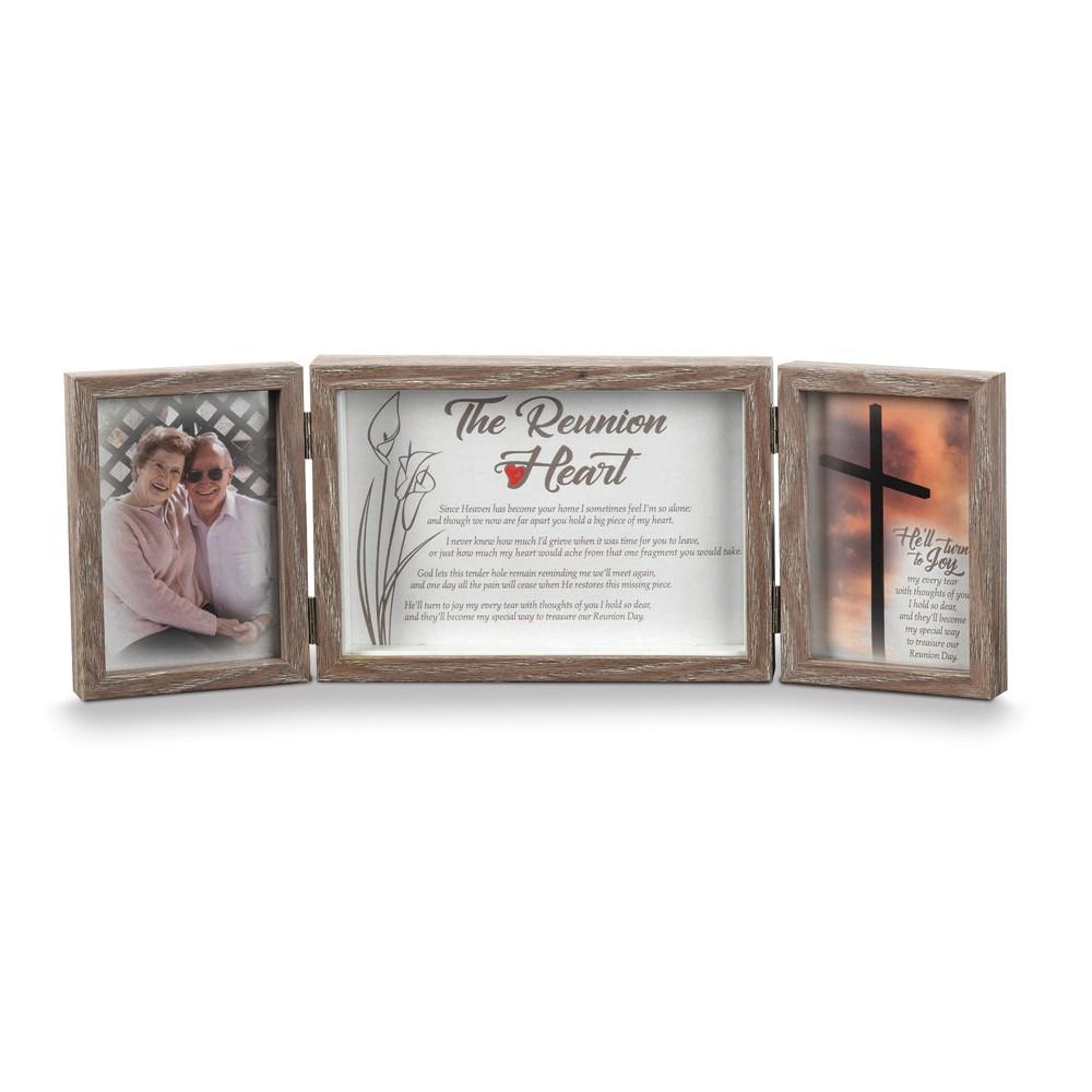 Reunion Heart Resin Tabletop Photo Frame