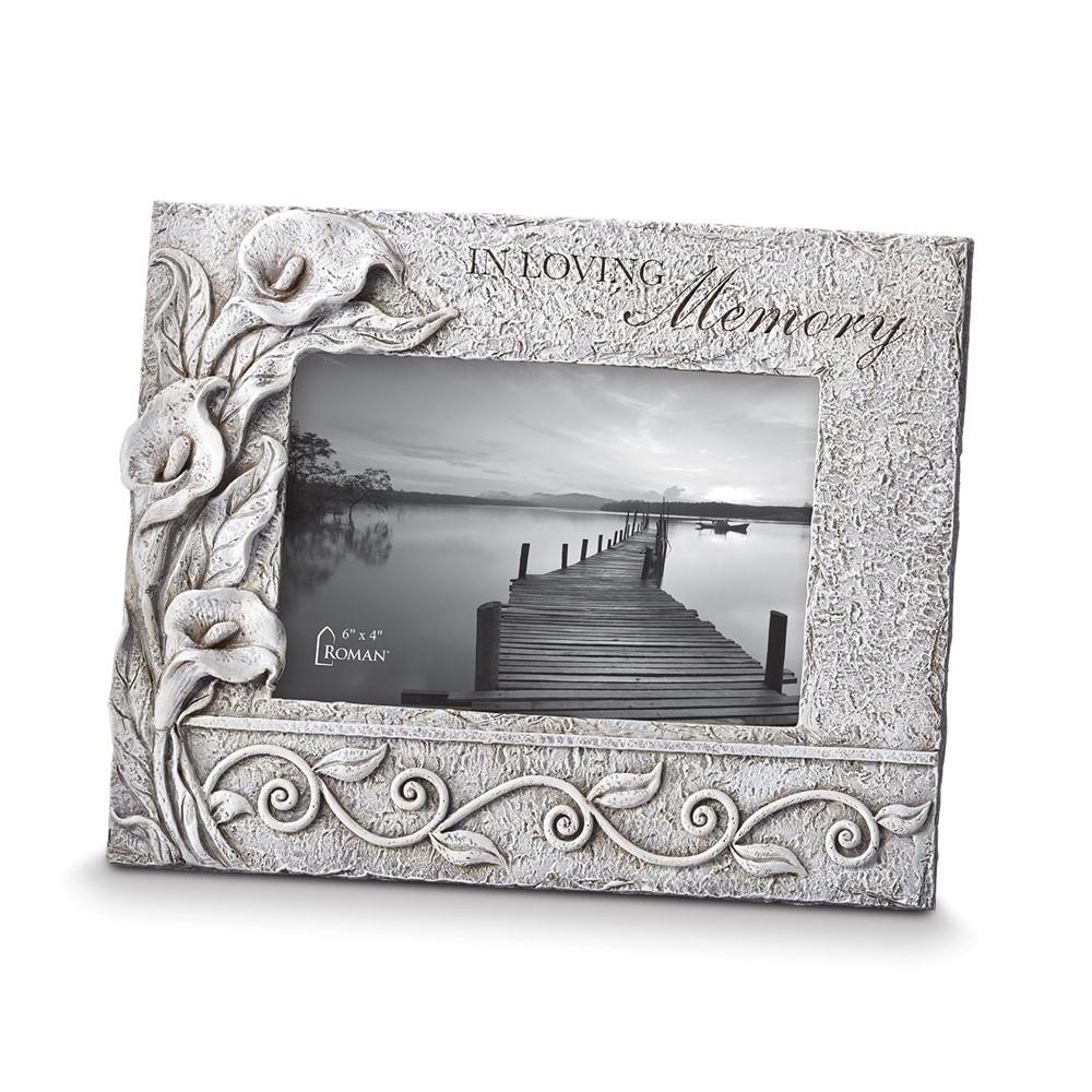 Resin In Loving Memory 4x6 Photo Frame