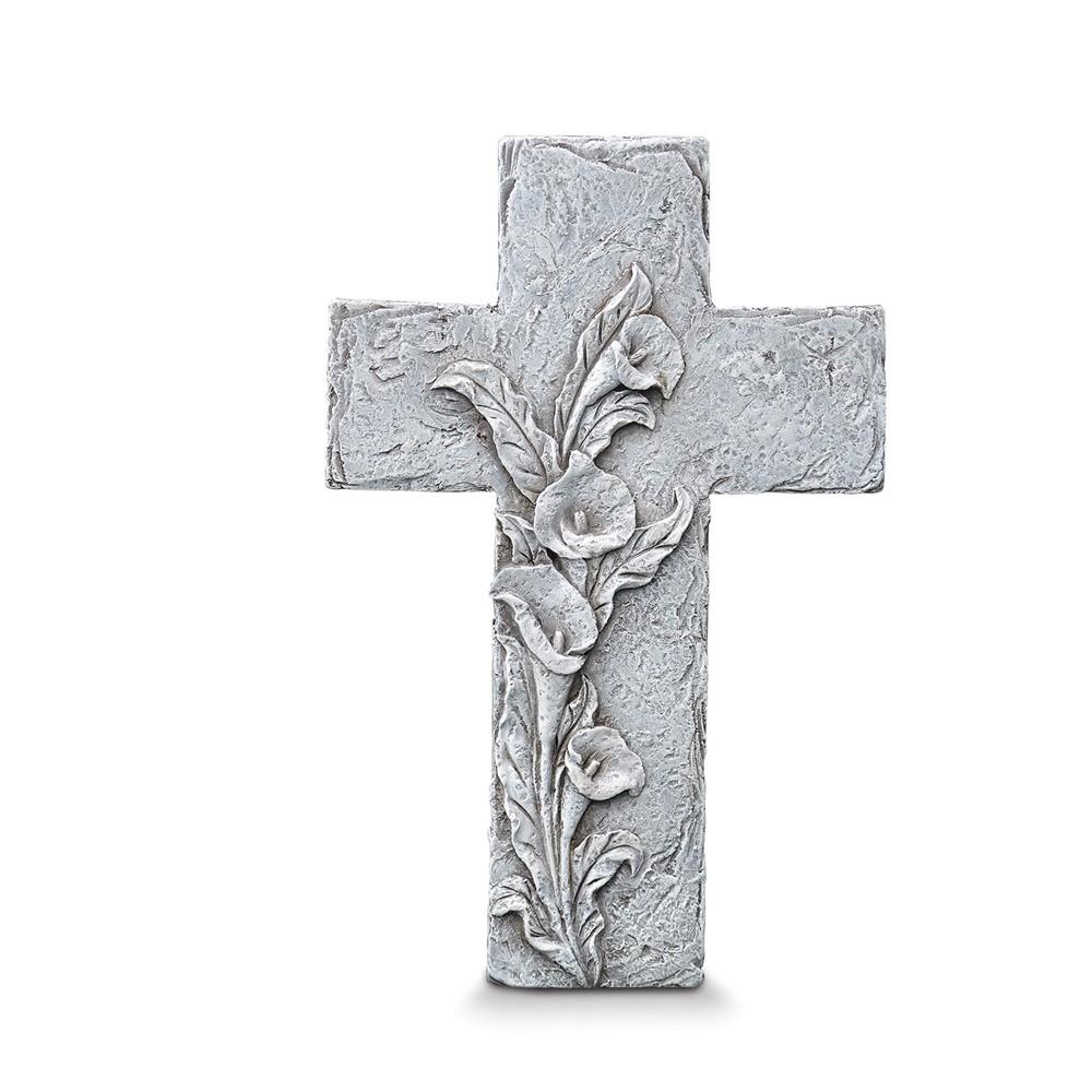 Resin In Loving Memory Wall Cross