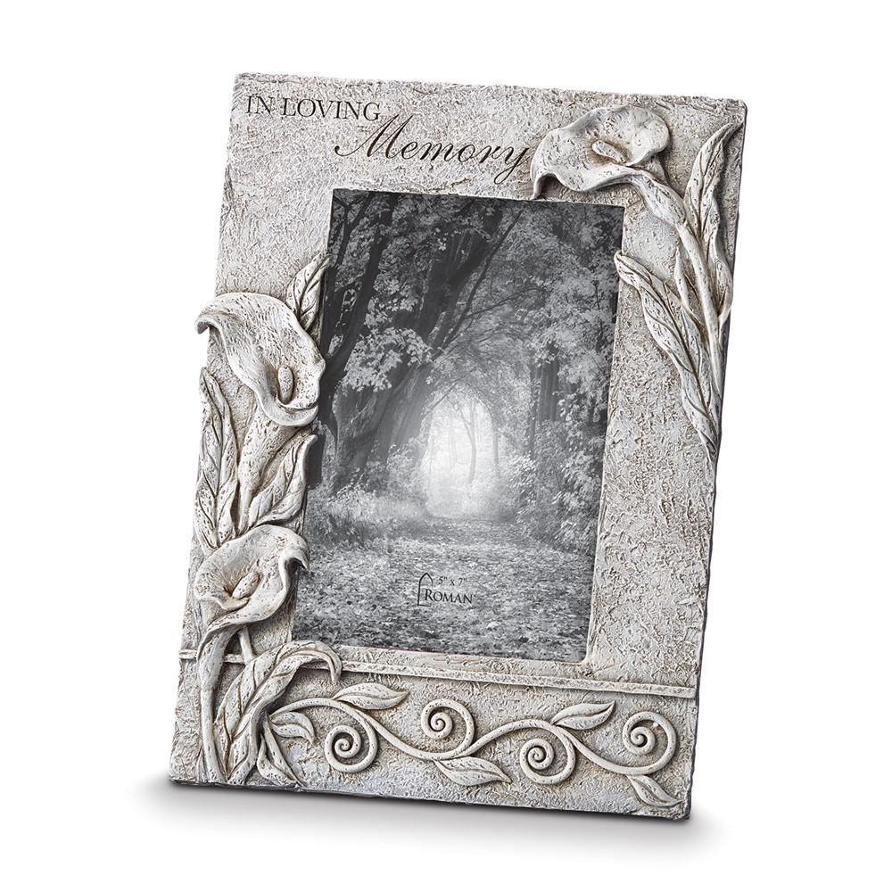 Resin In Loving Memory 5x7 Photo Frame